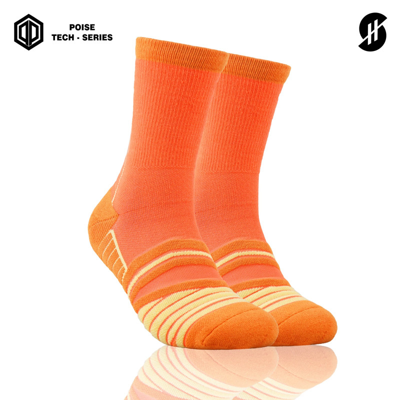 Kaos Kaki basket Stay Hoops Postagmeze Basic Poise Tech-Series Socks