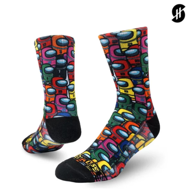 Kaos Kaki basket Stay Hoops Impostor Socks