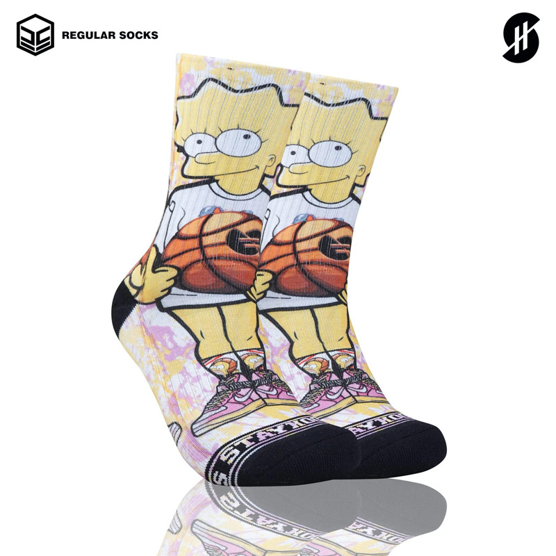 Kaos Kaki basket Stay Hoops Lisa Socks