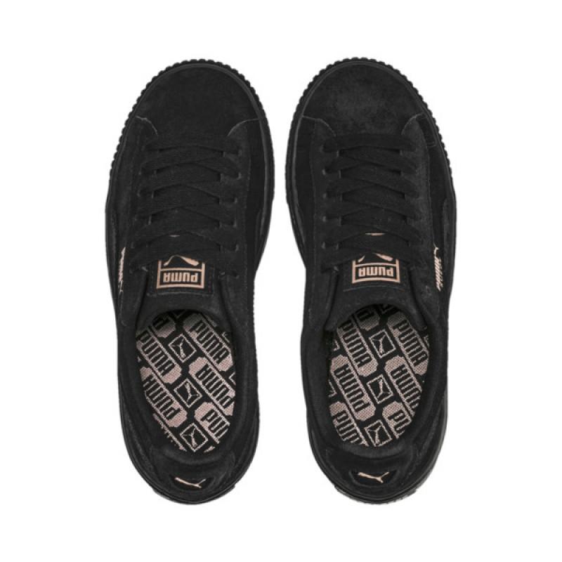 cc55192f5aa9 Jual Sepatu Sneakers Puma Wmns Suede Platform Artica Black Original ...