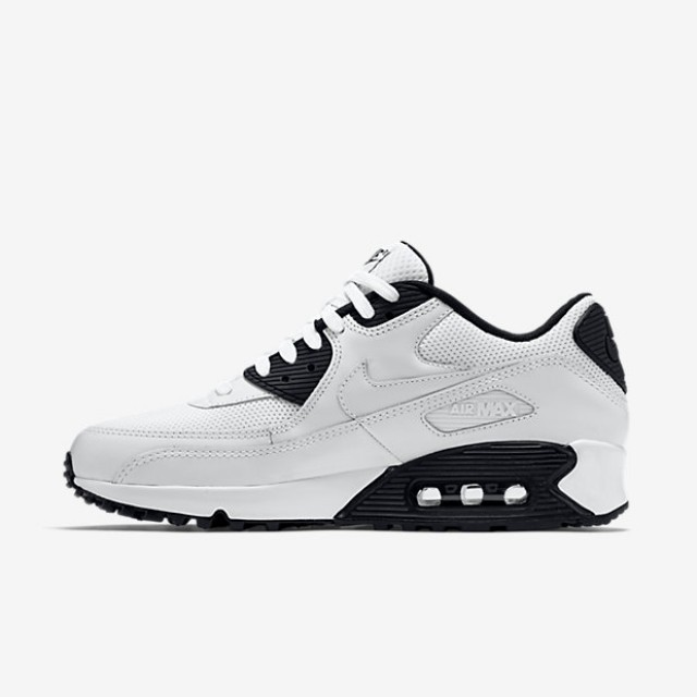new concept 51a3c d1b67 ... new style black i69fr jual sepatu sneakers nike air max 90 essential  white original termurah di