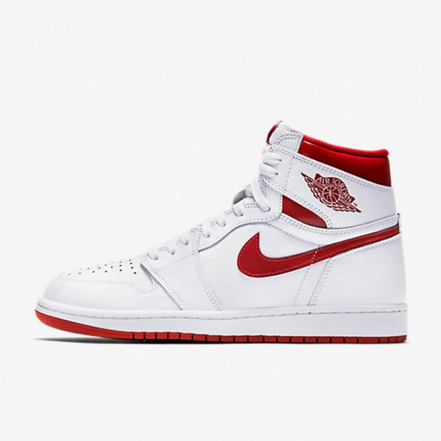 Jual Sepatu Basket Jordan AJ 1 Retro High OG Metallic Red Original ... 98ae0e94ca