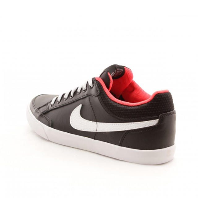 d8bec2f42dc Jual Sepatu Sneakers Nike Capri III Low Leather Black Original ...