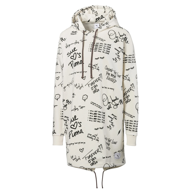 595235 55 x SUE TSAI AOP Hooded Dress