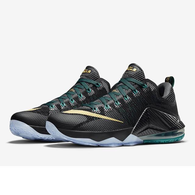 Jual Sepatu Basket Nike Lebron 12 Low Anthracite Original