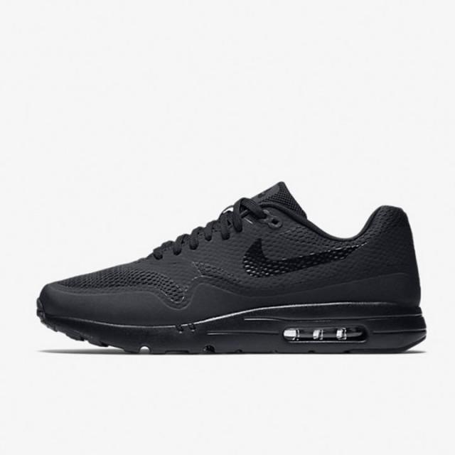 023d938dbdeb Jual Sepatu Sneakers Nike Air Max 1 Ultra Essential Triple Black Original
