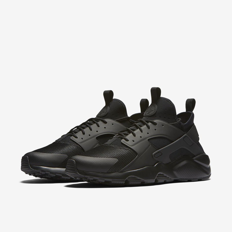 Sepatu Sneakers Nike Air Huarache Run Ultra Triple Black