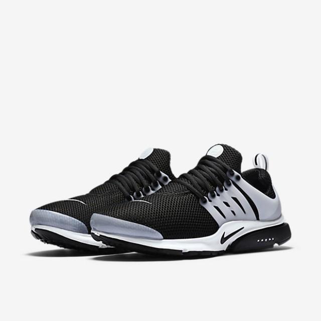 Jual Sepatu Sneakers Nike Air Presto Black White Original  b7cb650400