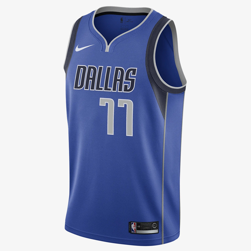 864469-487 Luka Doncic Icon Edition Swingman Jersey