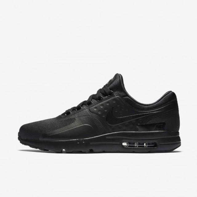 Jual Sepatu Sneakers Nike Air Max Zero Essential Triple Black Original  0faec0a572