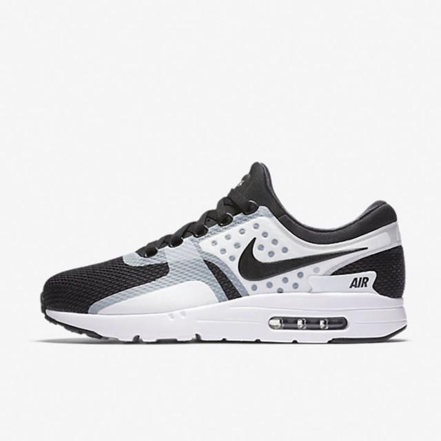 best service 5b0e0 01c22 Jual Sepatu Sneakers Nike Air Max Zero Essential Black White ...