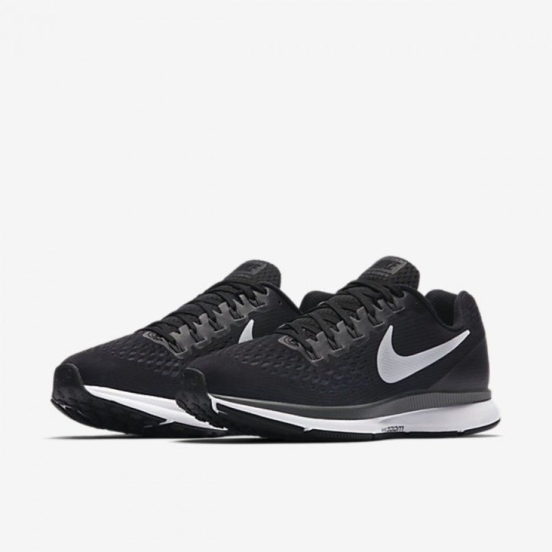 Sepatu Lari Nike Wmns Air Zoom Pegasus 34 Black White