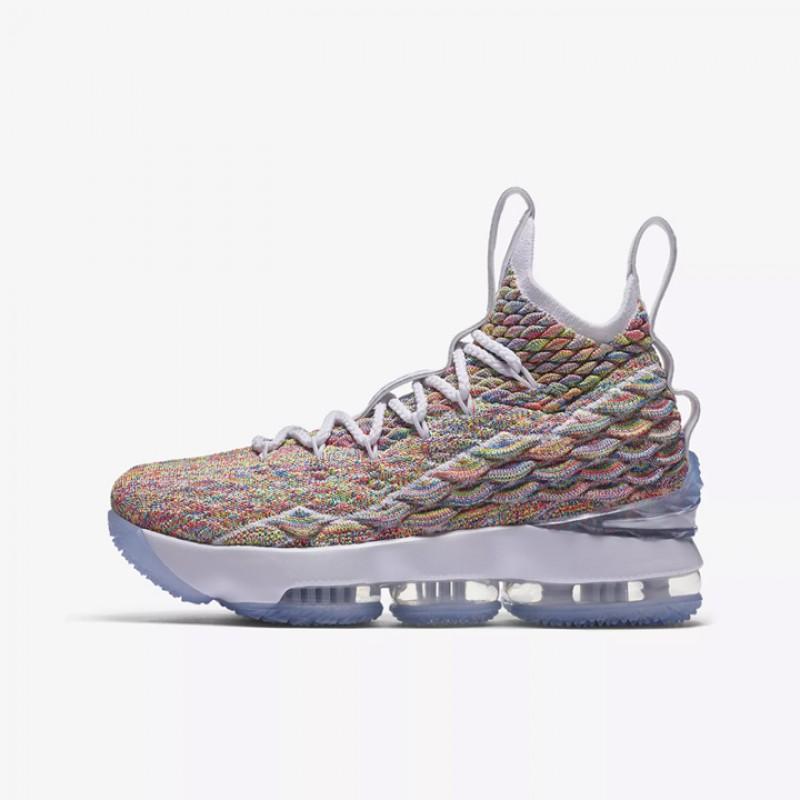 da51eeb2775 Jual Sepatu Basket Nike Lebron 15 BG Fruity Pebbles Original ...