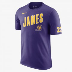 Lebron James Los Angeles Lakers Dri-FIT Tee Purple