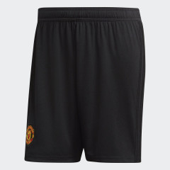 Manchester United Home Shorts Black