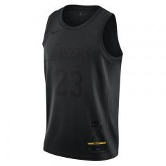 459f0a5119cc Pakaian Basket Nike Lebron James MVP Swingman Jersey Black