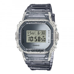 G-shock Special Colour Digital Dial Resin Strap Silver