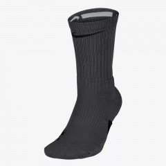 Elite Crew Socks Dark Grey