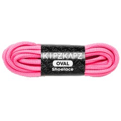 Oval 6mm Solar Pink